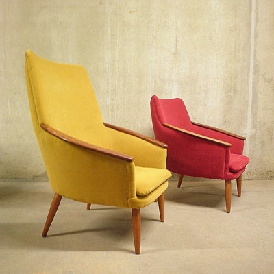 Bovenkamp lounge chair, 1950s