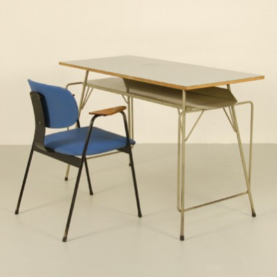 Writing Desk by Willy Van Der Meeren for Tubax