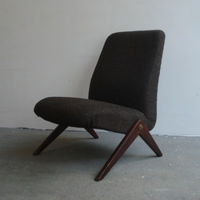 Lounge Chair by Bengt Ruda for Nordiska Kompaniet