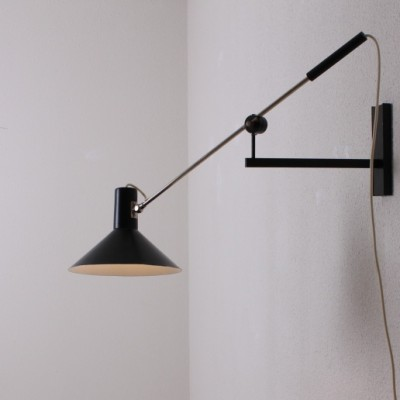 Counter Balance Wall Lamp by J. Hoogervorst for Anvia Almelo