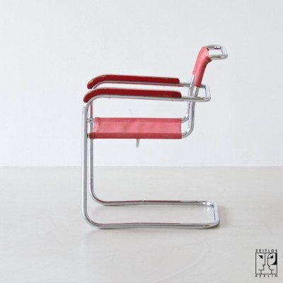 B34 1/2 Office Chair by Marcel Breuer for Thonet