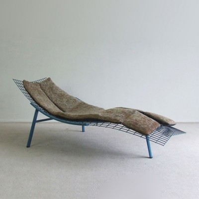 Swing-Rete Lounge Chair by Giovanni Offredi for Saporiti