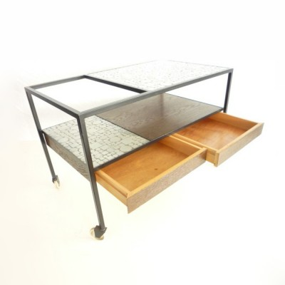 Bar Serving Trolley by Herbert Hirche for Rosenthal