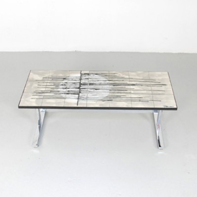 Coffee Table by J. Belarti for Unknown Manufacturer