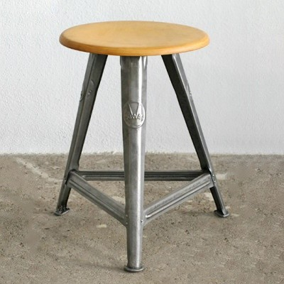 Stool by Robert Wagner for Rowac