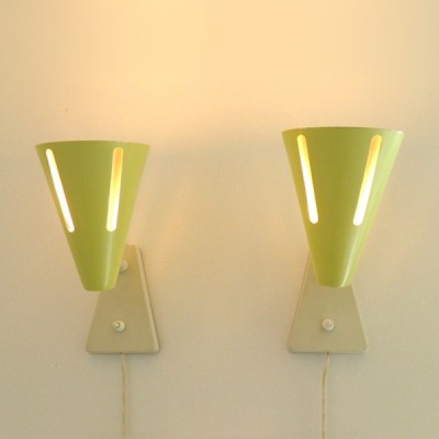 Zonneserie Wall Lamp by H. Busquet for Hala Zeist