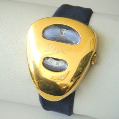 Cyclops Watch from the seventies by unknown designer for Sheffield
