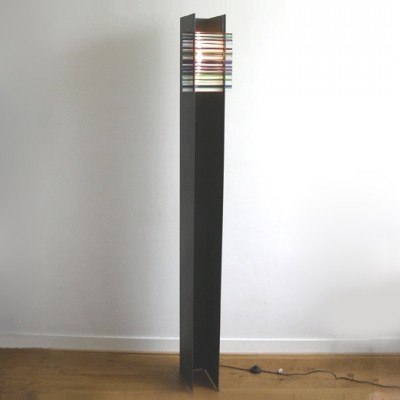 Floor lamp from the eighties by G. Clisson for unknown producer