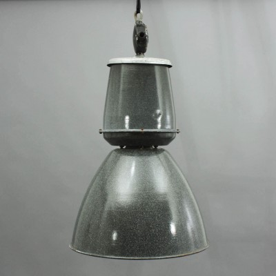 Large midcentury industrial light