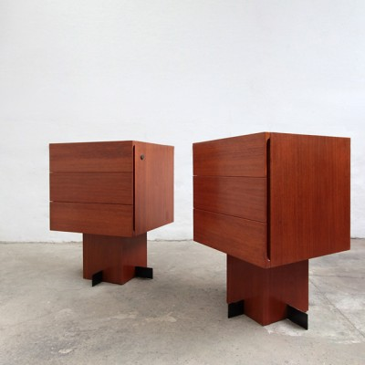 Night Stands by Franco Albini for Unknown Manufacturer