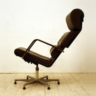 Plaano office chair by Yrjö Kukkapuro for Haimi Finland, 1970s