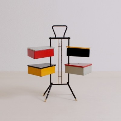 Sewing Box by Joos Teders for Metalux