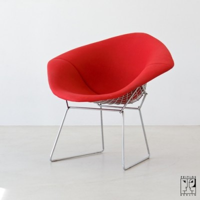 421 LU Lounge Chair by Harry Bertoia for Knoll International