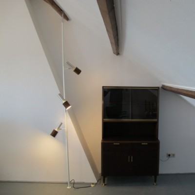 Clamp floor lamp from the sixties by unknown designer for Hala Zeist