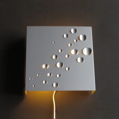 6 x Sterrenregen wall lamp by Evert Jelle Jelles for Raak Amsterdam, 1960s