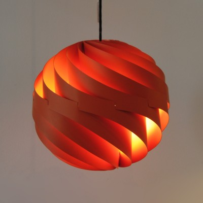 Turbo Hanging Lamp by Louis Weisdorf for Lyfa