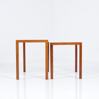 Pair of vintage nesting tables, 1960s