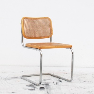 Cesca S32 Dinner Chair by Marcel Breuer for Thonet