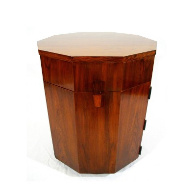 Decagon Dry Bar cabinet by Harvey Probber for Fall River, 1950s