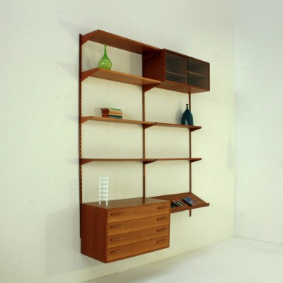 FM Systems Wall Unit by Kai Kristiansen for Feldballes Møbelfabrik