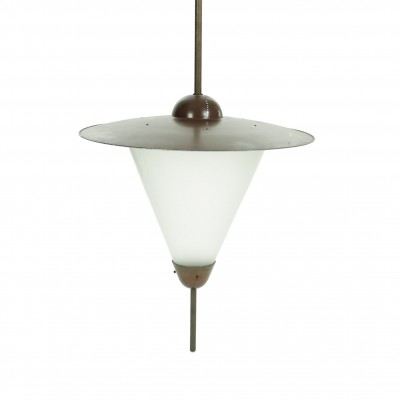 10 x Giso hanging lamp by W. Gispen for Gispen, 1930s