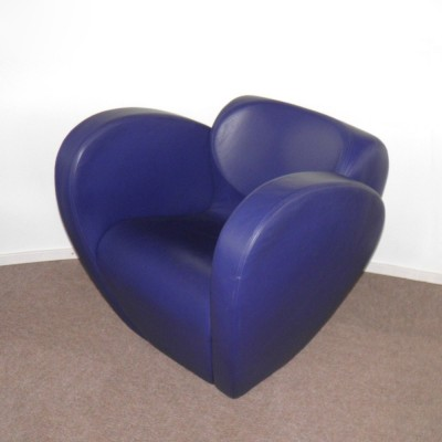 Size Ten lounge chair from the nineties by Ron Arad for Moroso Italy