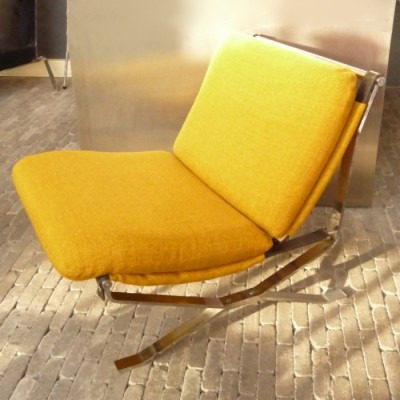 Lounge Chair by Unknown Designer for MIM Roma