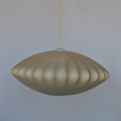 Saucer hanging lamp by George Nelson for Howard Miller, 1950s