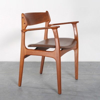4 x dining chair by Erik Buck for O. D. Møbler, 1960s