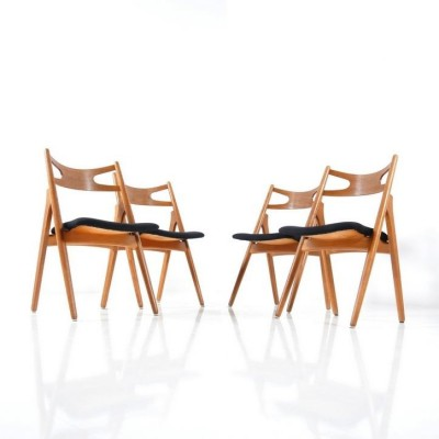 CH-29 Sawback Dinner Chair by Hans Wegner for Carl Hansen