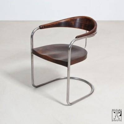 SS 33 Office Chair by Hans Luckardt for Thonet
