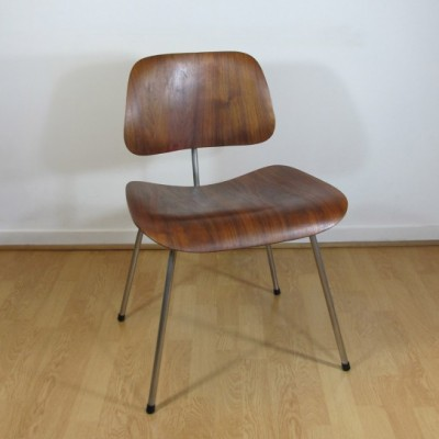DCM dinner chair by Charles & Ray Eames for Evans, 1950s