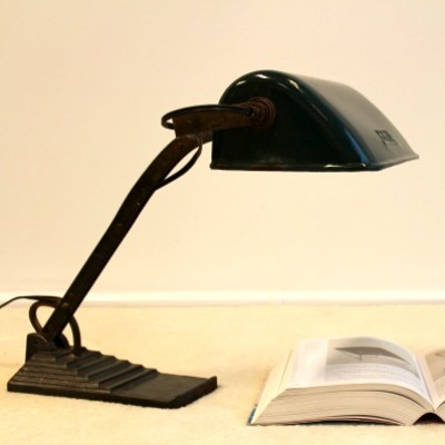 Horax desk lamp, 1920s