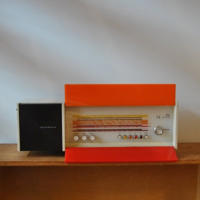 Spectra Futura Radio by Raymond Loewy for Nordmende, 1960s