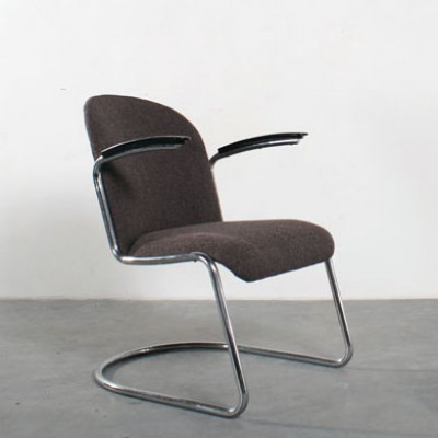 413 Lounge Chair by W. Gispen for Gispen
