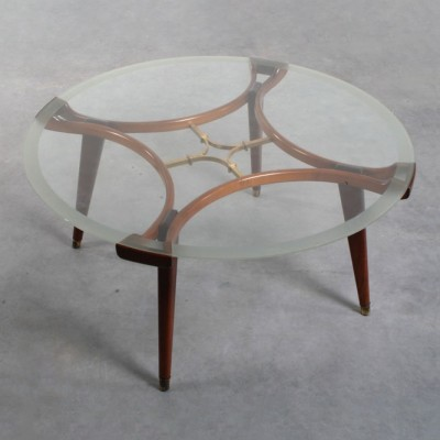 Coffee Table by Unknown Designer for Giordano Chiesa
