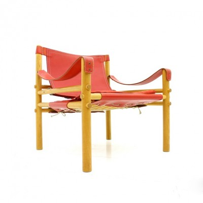 Safari lounge chair from the fifties by Arne Norell for unknown producer