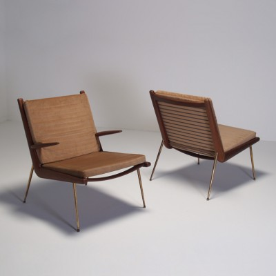 FD143 Boomerang Lounge Chair by Peter Hvidt for France and Son