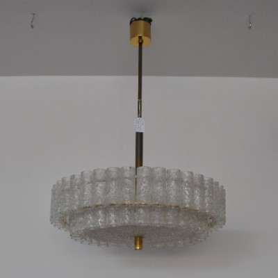 Model 3771 hanging lamp by Doria Lichtenwerken