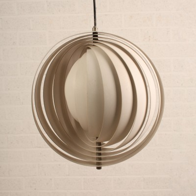 Moon Hanging Lamp by Verner Panton for Louis Poulsen