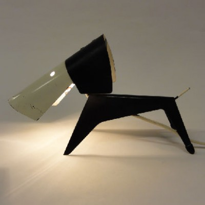 Dog desk lamp by Jean Boris Lacroix for Disderot, 1950s
