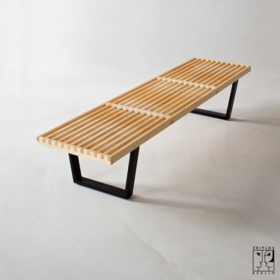 Bench by George Nelson for Vitra