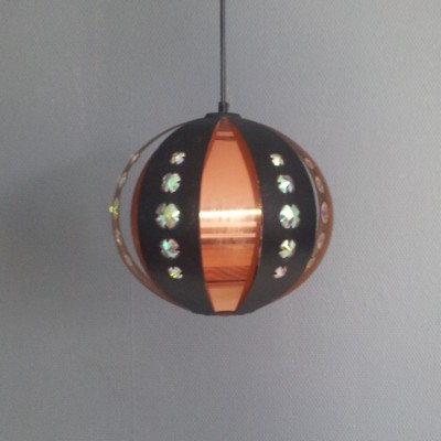 Hanging lamp by Werner Schou for Coronell Elektro Denmark, 1960s