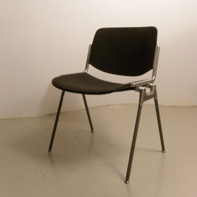 Office chair from the sixties by unknown designer for Castelli