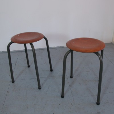 10 stools from the seventies by unknown designer for Marko Holland