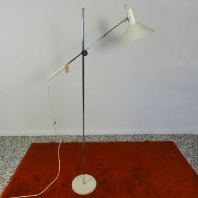 Floor Lamp by J. Hoogervorst for Anvia Almelo
