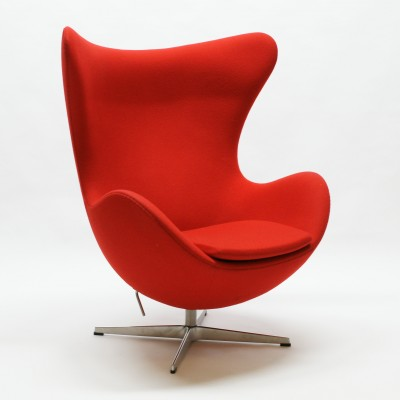 Egg Lounge Chair by Arne Jacobsen for Fritz Hansen