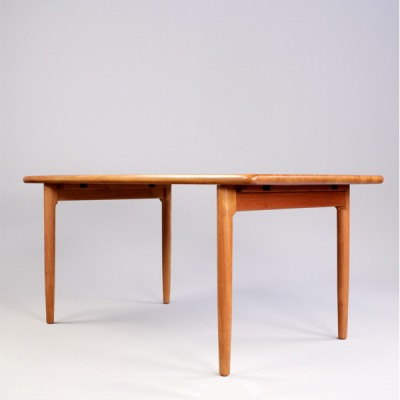Dining table by Niels Otto Møller for Gudme Møbelfabrik, 1970s