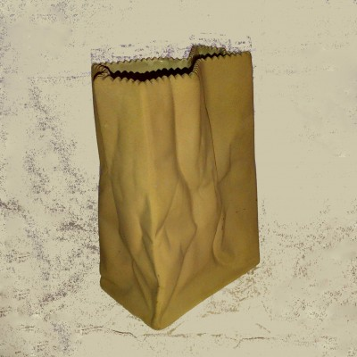 Ceramic Paper Bag by Tapio Wirkkala for Rosenthal