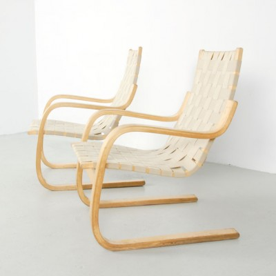 406 Lounge Chair by Alvar Aalto for Artek